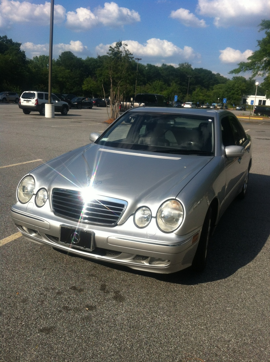 Picture of 2002 mercedes benz e class e320 exterior for Mercedes benz 2002 e class
