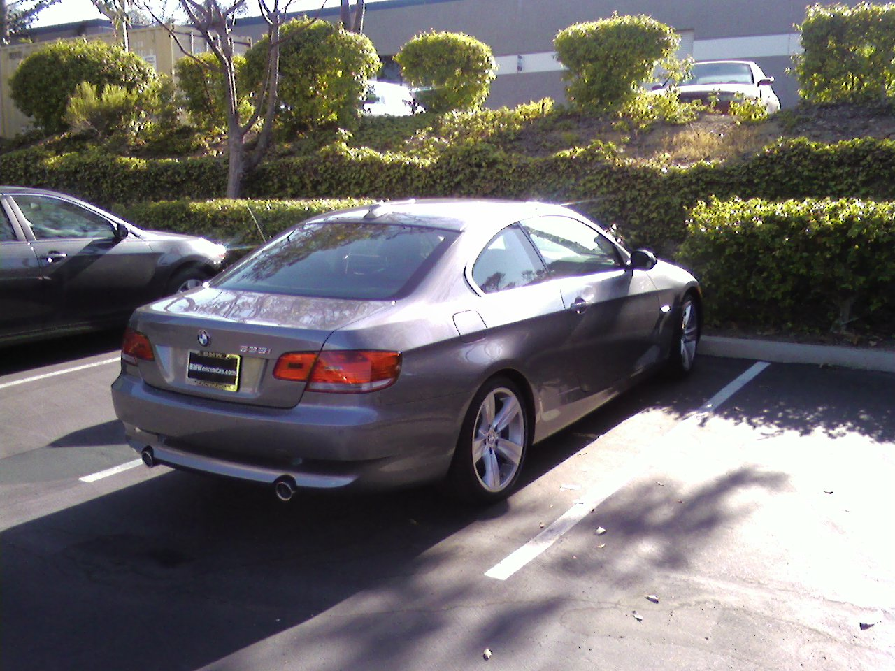 picture of 2007 bmw 3 series 335i coupe exterior. Black Bedroom Furniture Sets. Home Design Ideas