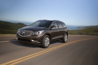 2013 Buick Enclave, Front-quarter view. Copyright General Motors, manufacturer, exterior