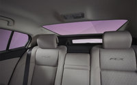 2012 Honda FCX Clarity, interior rear view, interior, manufacturer