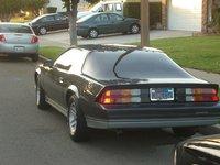 1982 Chevrolet Camaro, Rear View, exterior