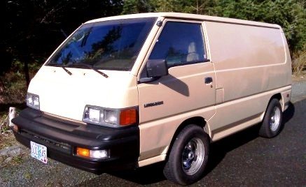 Picture of 1990 Mitsubishi Vanwagon Base Cargo Van, exterior