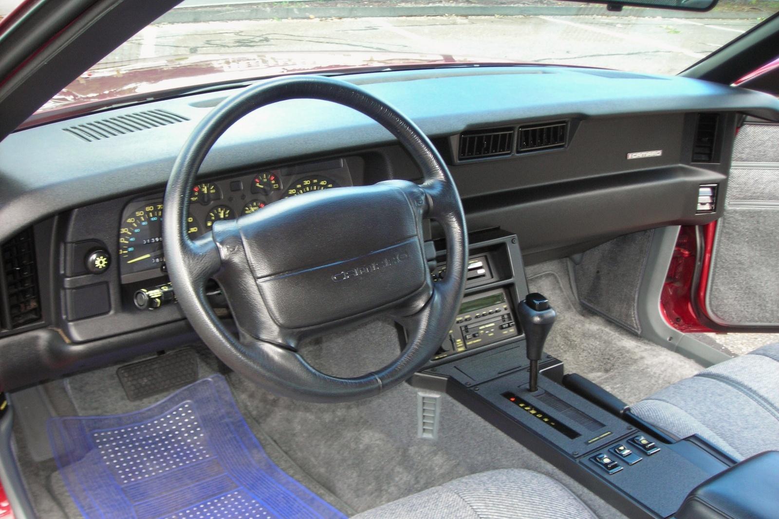 1991 chevrolet camaro interior pictures cargurus