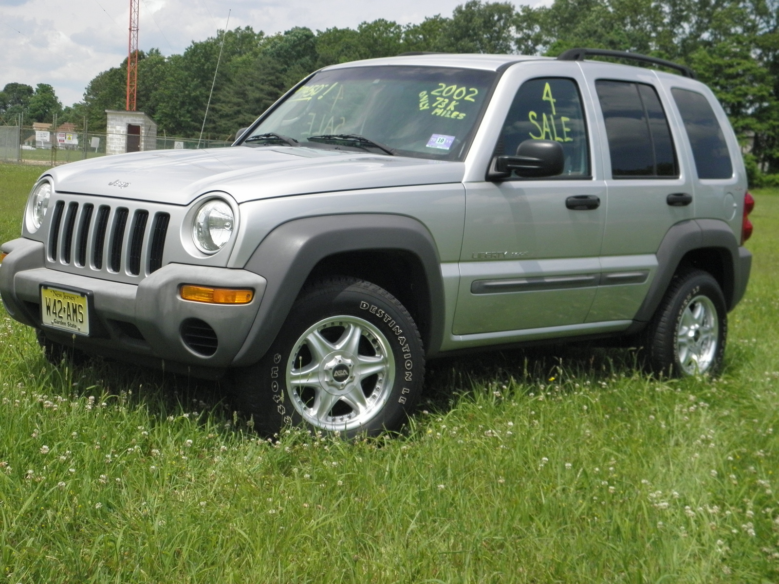 picture of 2002 jeep liberty sport 4wd exterior. Black Bedroom Furniture Sets. Home Design Ideas
