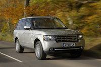 2012 Land Rover Range Rover, Front-quarter view, exterior, manufacturer