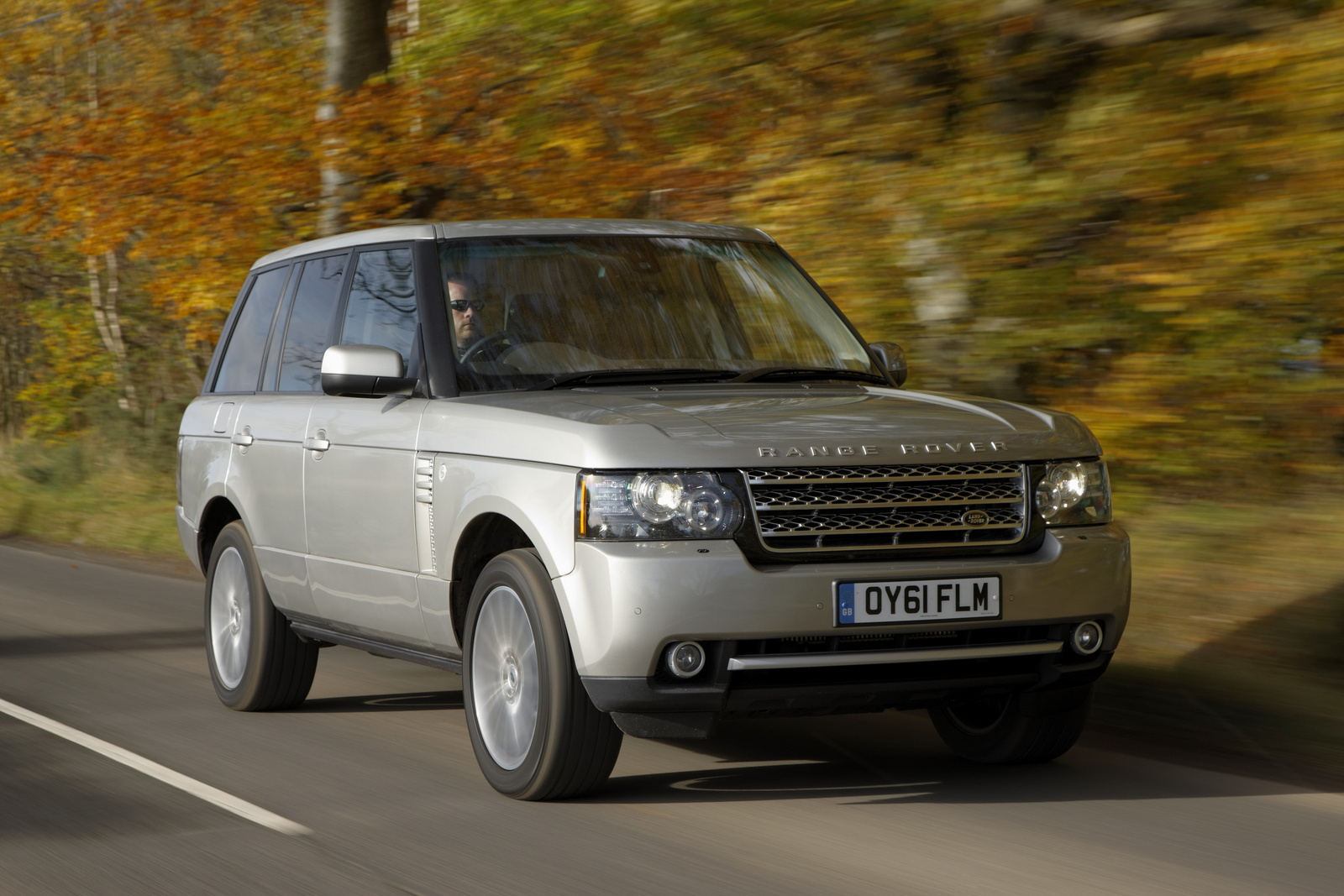 2012 Land Rover Range Rover, Front-quarter view, exterior, manufacturer