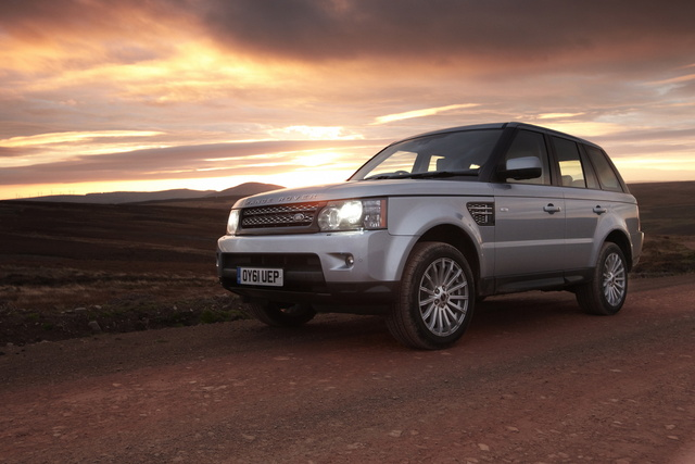 2012 Land Rover Range Rover Sport, Front-quarter view, exterior, manufacturer, gallery_worthy