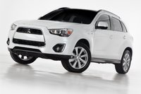 2013 Mitsubishi Outlander Sport, Front-quarter view, exterior, manufacturer