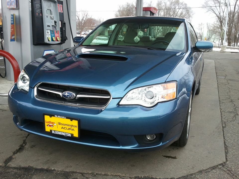 2007 Subaru Legacy 2.5 GT Limited, The day I got it., exterior