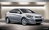 2013 Hyundai Accent, Front-quarter view, exterior, manufacturer, gallery_worthy