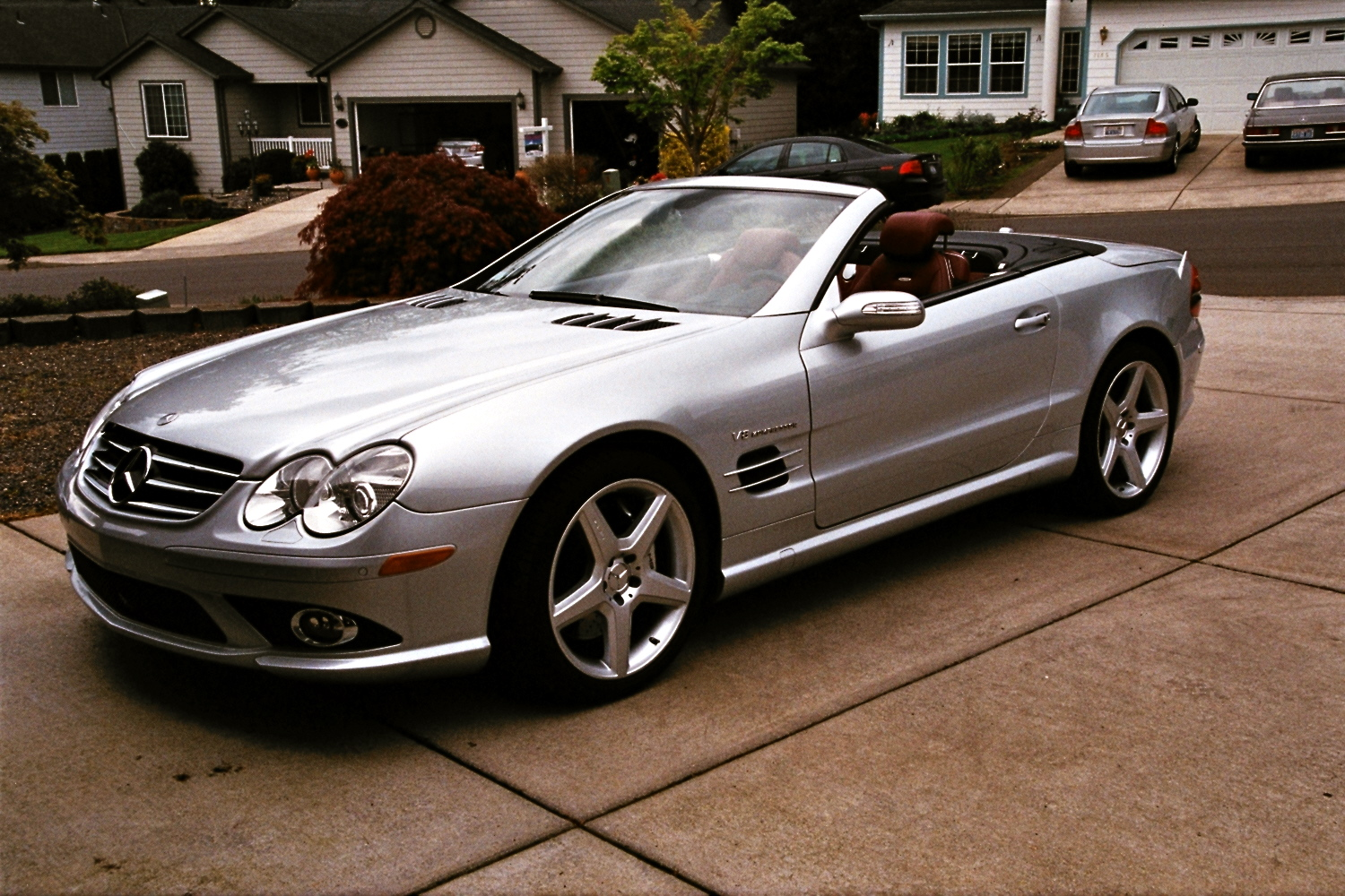 2007 mercedes benz sl class pictures cargurus for Mercedes benz sl55
