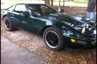 1995 Chevrolet Corvette Coupe, Picture of 1995 Chevrolet Corvette 2 Dr STD Hatchback, exterior