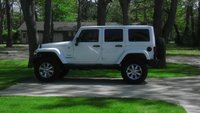 2012 Jeep Wrangler Unlimited Sahara picture, exterior