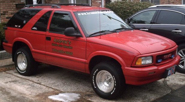 1996 GMC Jimmy 2 Dr SLS SUV picture