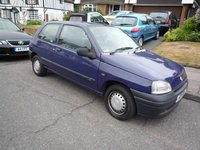 1998 Renault Clio Overview