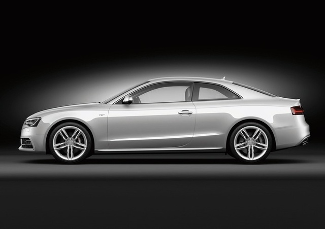 2013 Audi S5, exterior left side view full, exterior, manufacturer