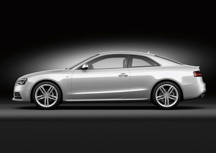 2013 Audi S5, exterior left side view full, manufacturer, exterior