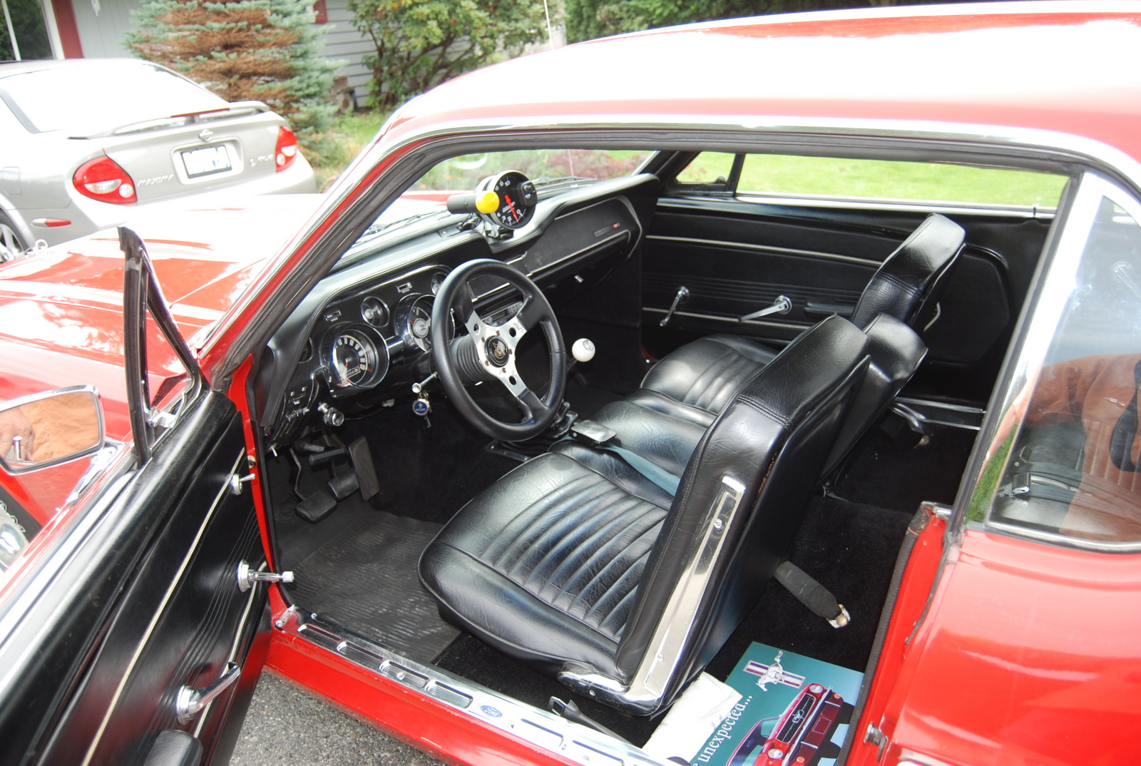 picture of 1967 ford mustang coupe interior quotes - 1967 Ford Mustang Interior
