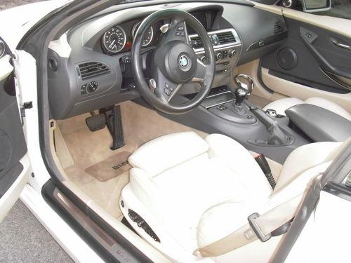 2005 Bmw 6 Series Interior Pictures Cargurus