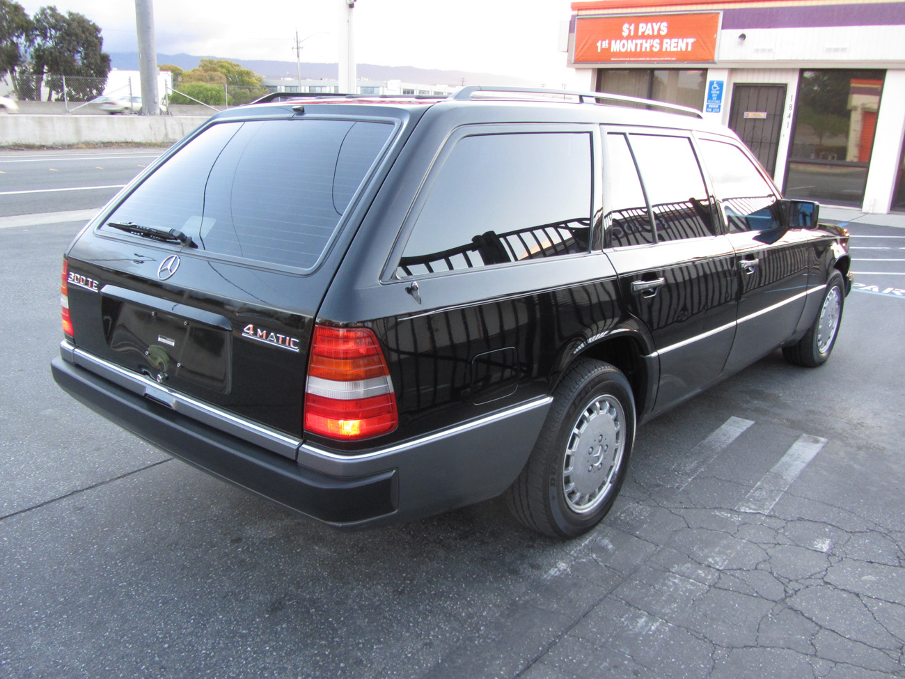 1987 mercedes benz 300 td turbo s124 in l a for Mercedes benz 300 td