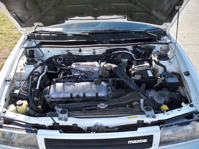 Picture of 1991 Mazda Protege 4 Dr LX Sedan, engine