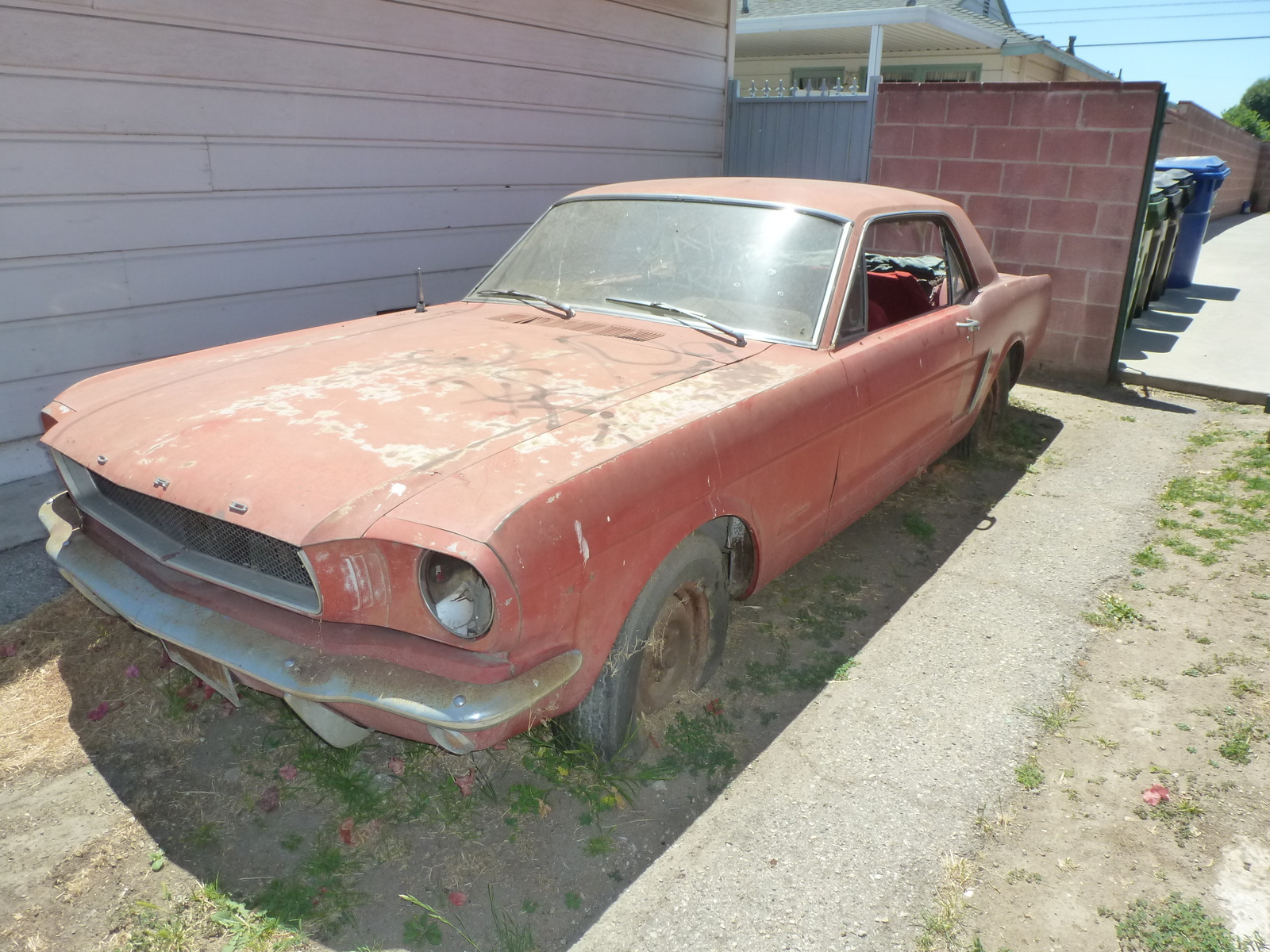 Ford Mustang Questions - I have a 19641/2 mustang. It needs work ...
