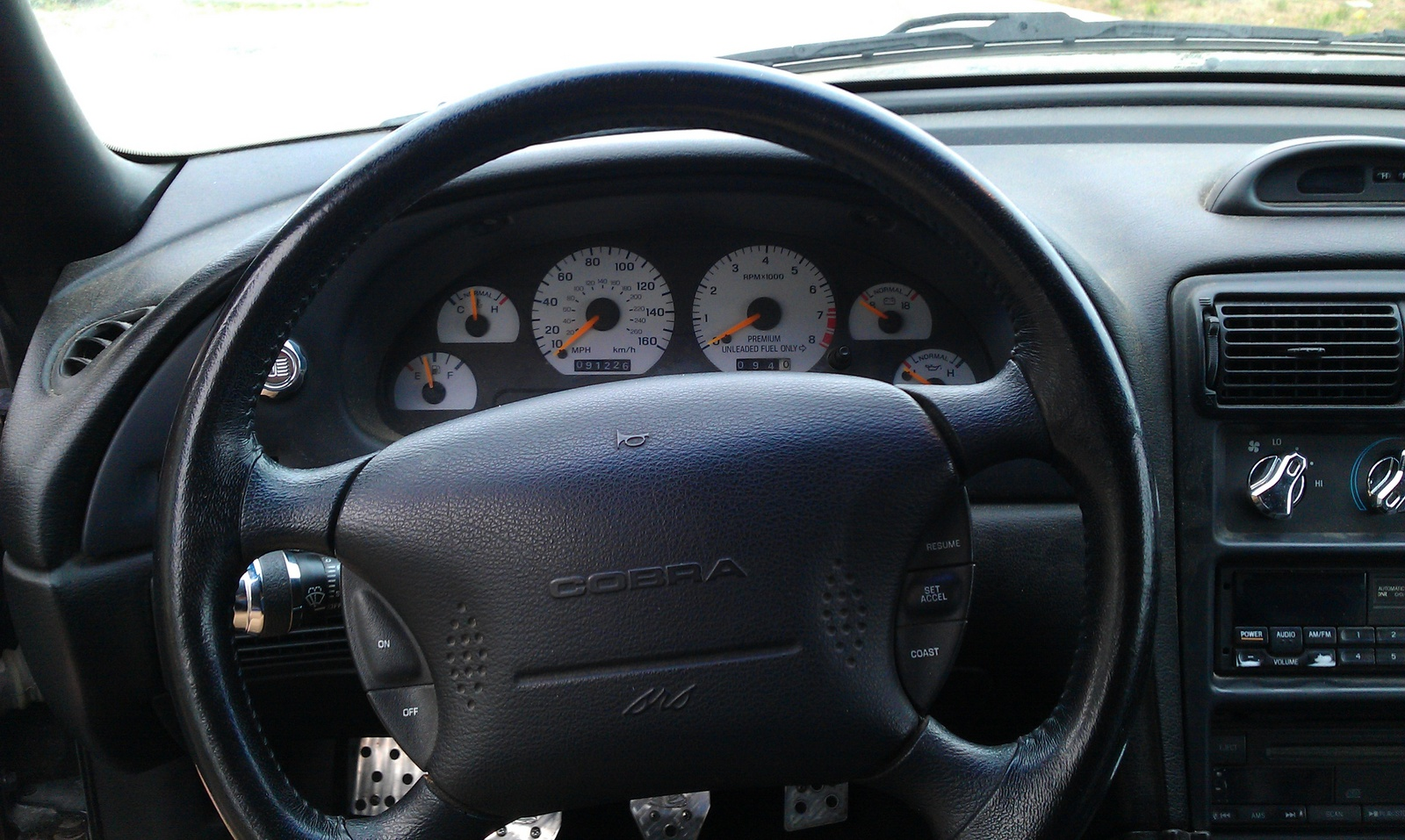 1996 Ford Mustang Svt Cobra Interior Pictures Cargurus