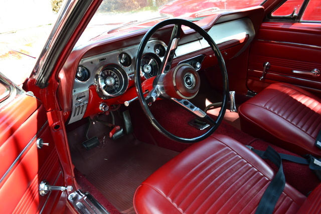 picture of 1967 ford mustang convertible interior