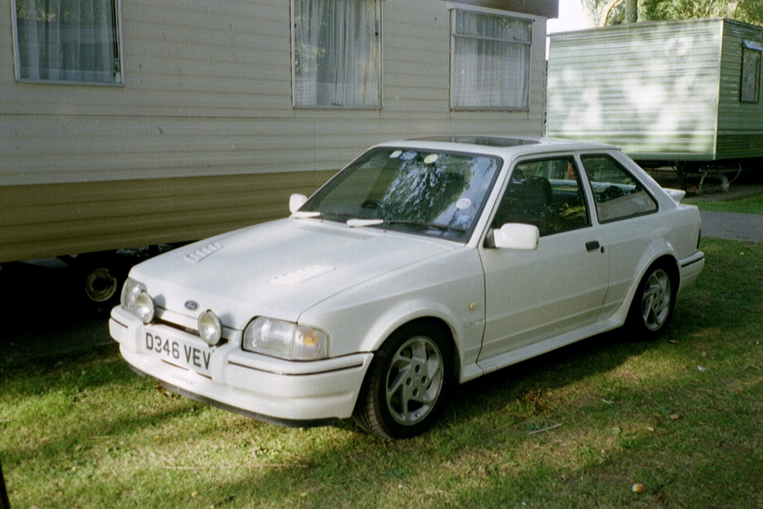 1987 Ford Escort, Ford Escort RS Turbo, exterior