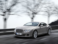 2013 Bentley Continental GT, exterior left front quarter view, exterior, manufacturer