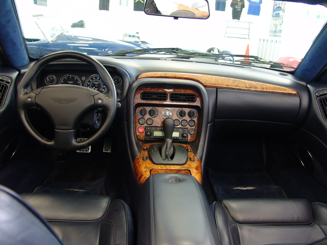 2002 aston martin vanquish interior images amp pictures   becuo
