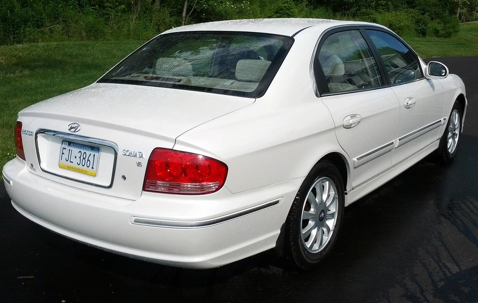 2003 Hyundai Sonata Pictures Cargurus