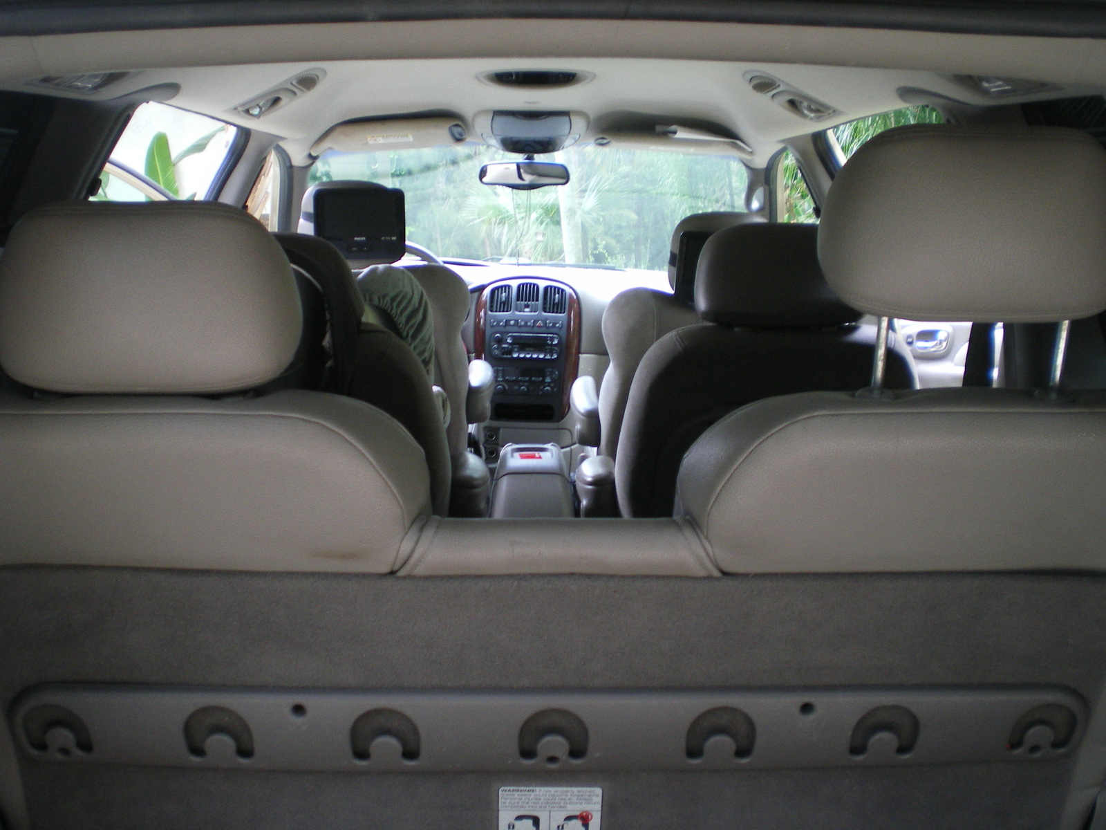 Picture Of 2001 Chrysler Town Country Limited Awd Interior