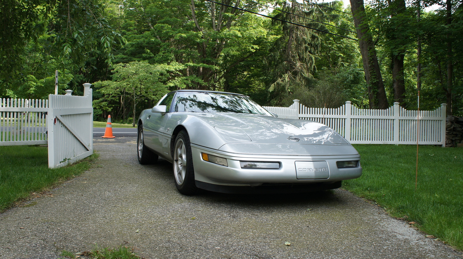 1996 Chevrolet Corvette Coupe, Picture of 1996 Chevrolet Corvette 2 Dr STD Hatchback, exterior