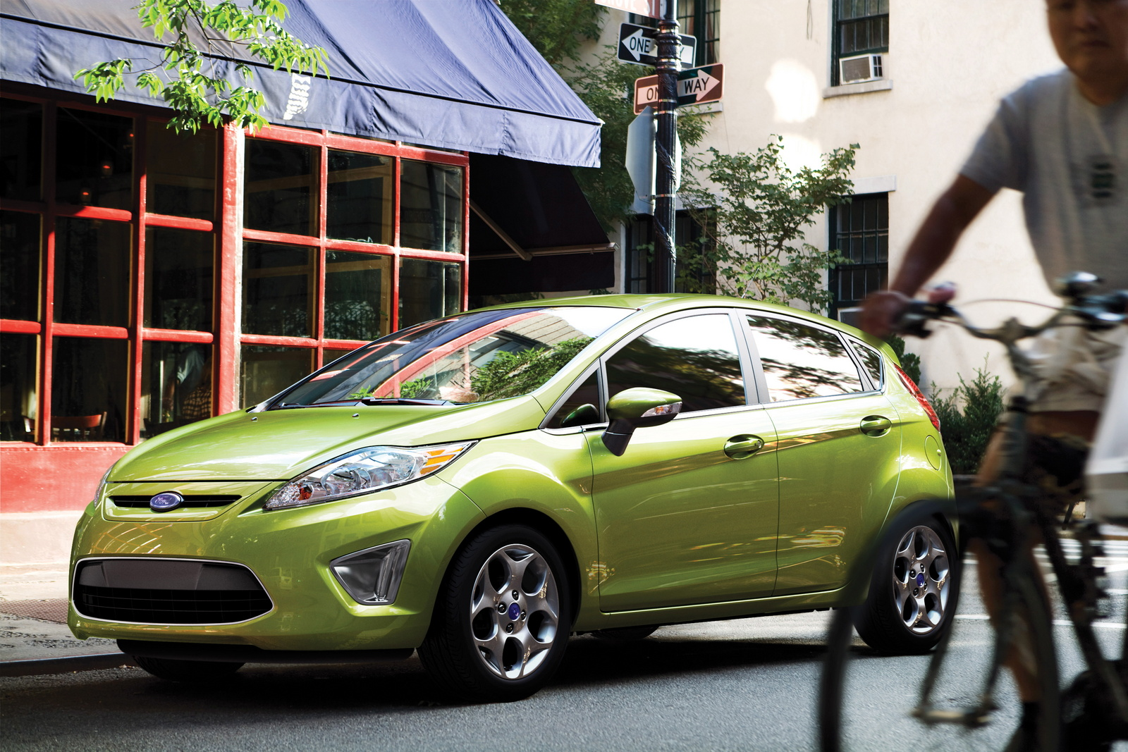 2013 Ford Fiesta, Front-quarter view, exterior, manufacturer