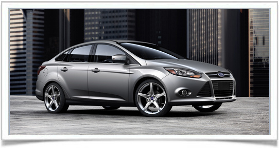 2013 Ford Focus, Front-quarter view, exterior, manufacturer