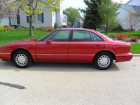 1998 Oldsmobile Eighty-Eight 4 Dr LS Sedan, 1998 oldsmobile, red, blackish grey interior, exterior