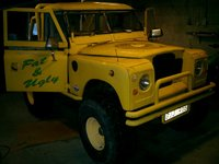 1973 Land Rover Series III Overview
