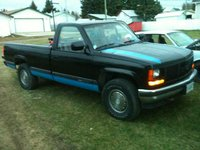 1988 GMC Sierra, my hand paintjob... more to come, exterior