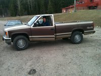 1988 GMC Sierra, before i started, exterior