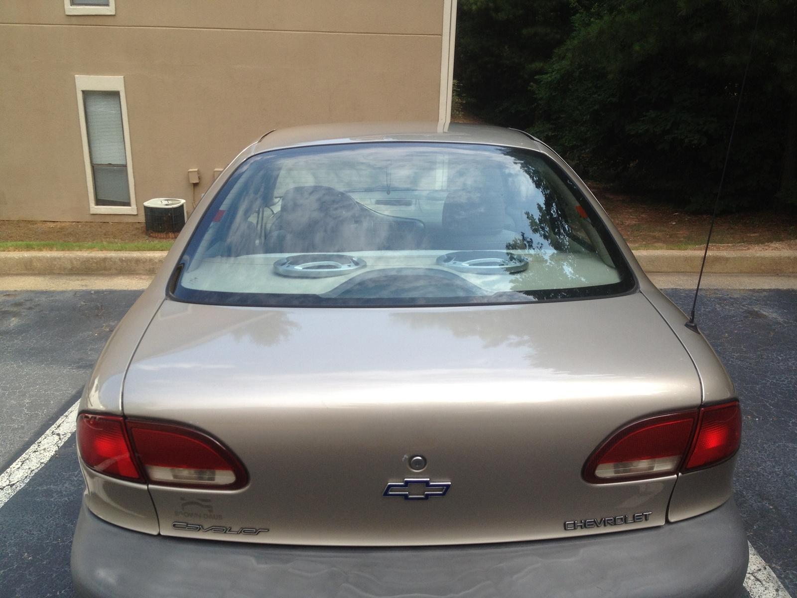 1997 Chevrolet Cavalier - Trim Information