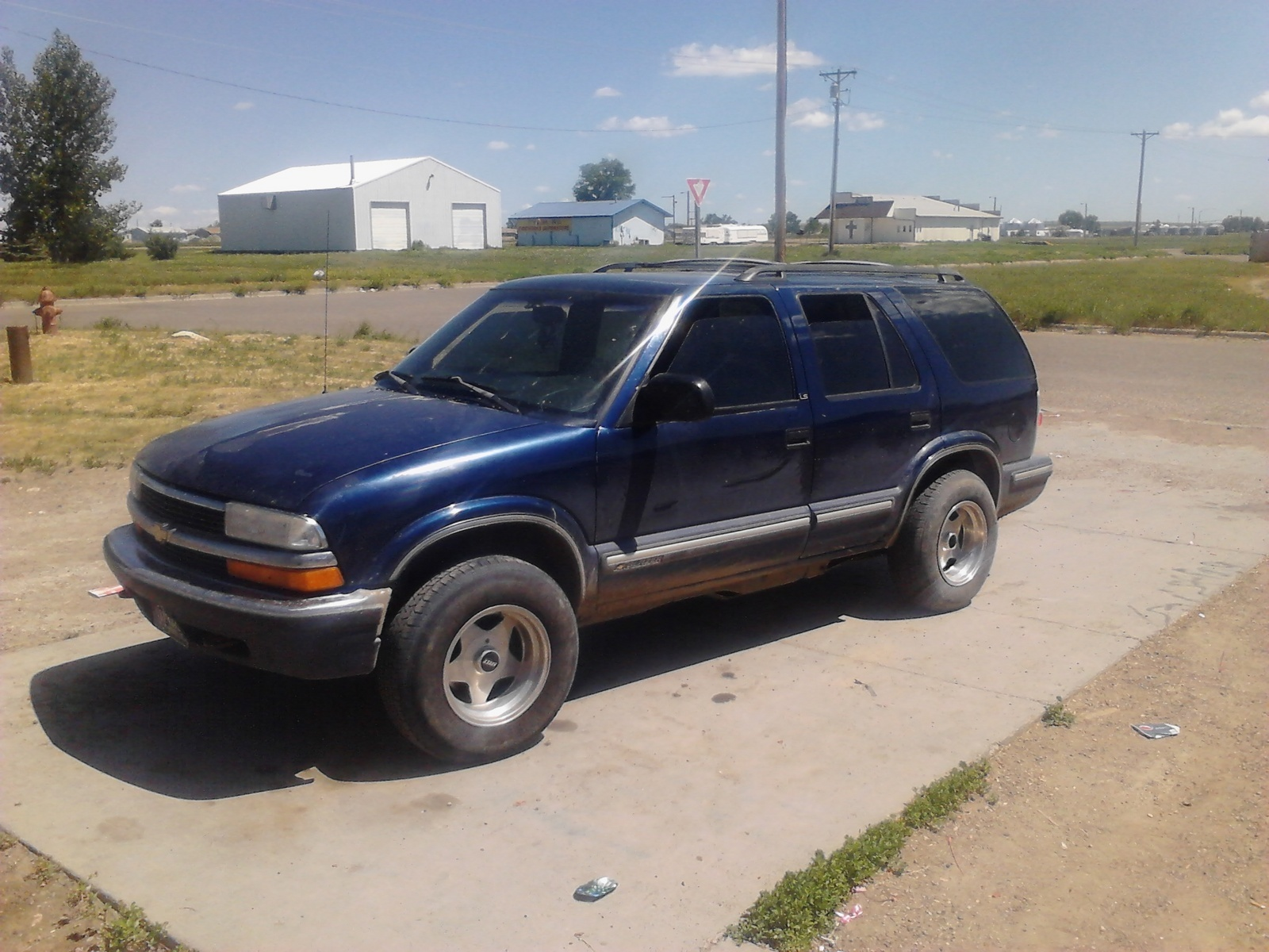 Chevrolet Blazer Questions Would It Hurt My 99 Blazer If The Wheels Stick Out In The Front Cargurus