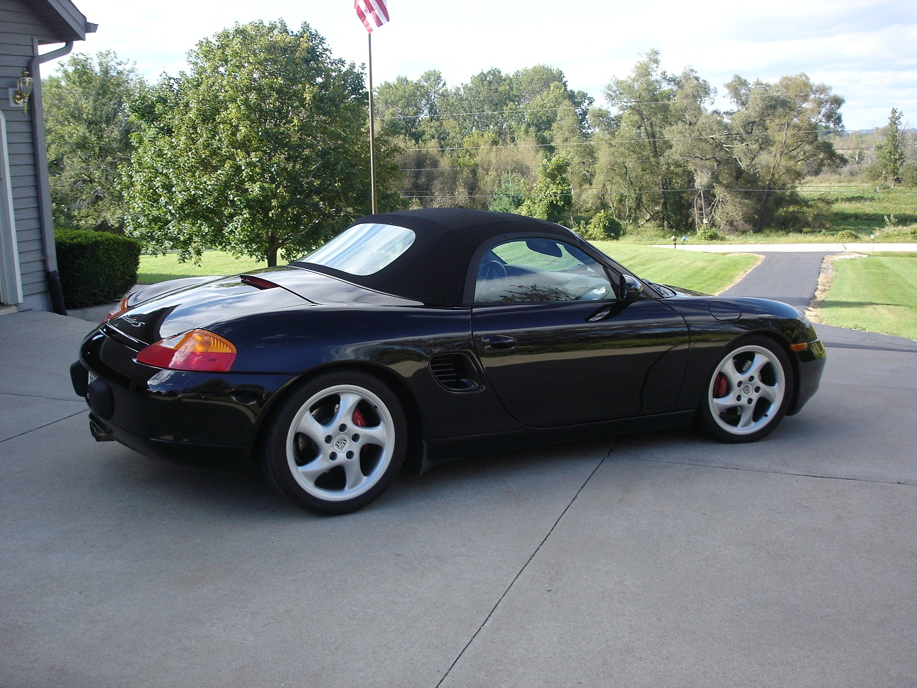 2001 porsche boxster s manual convertible