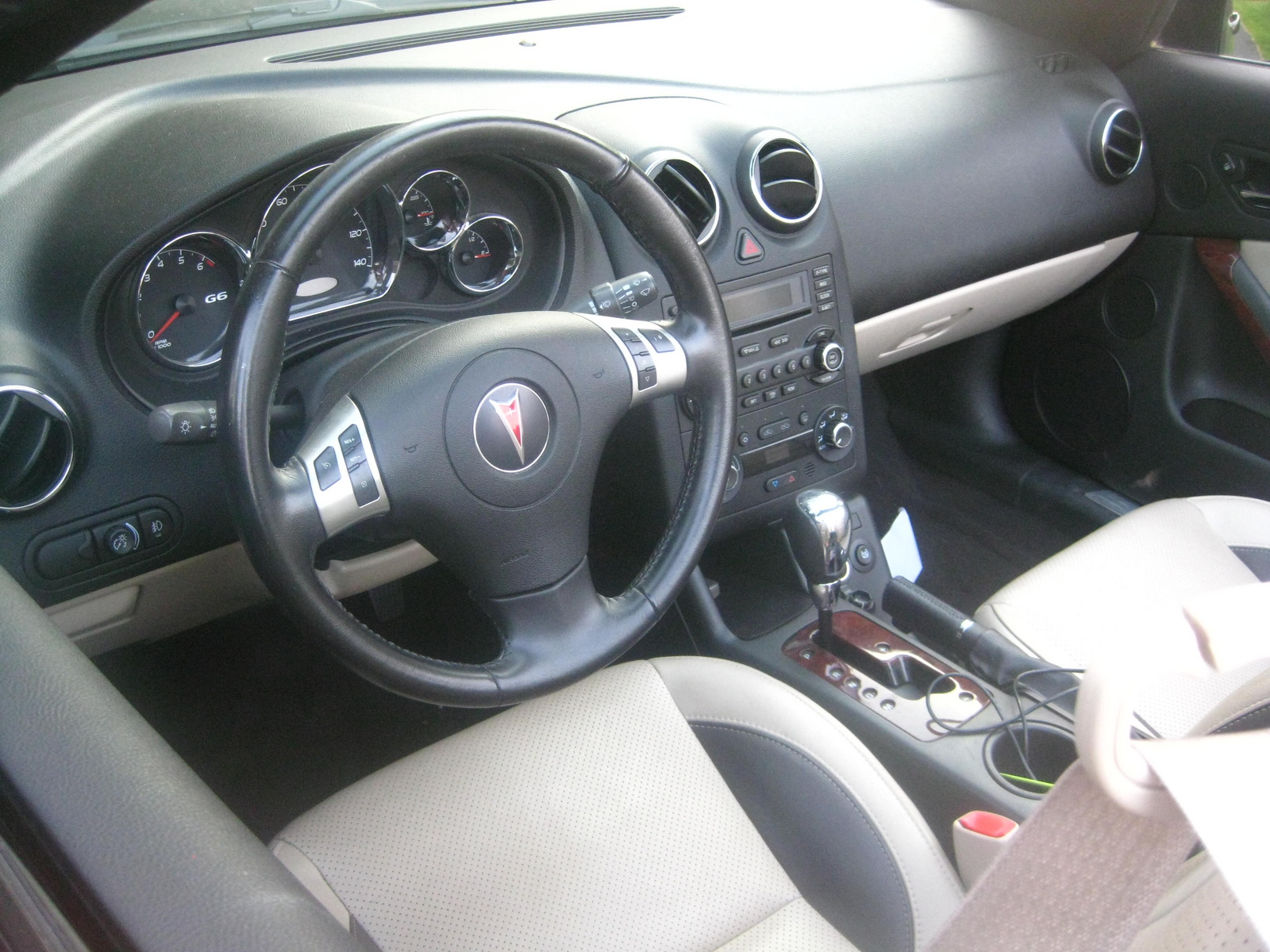 2006 Pontiac G6 Interior Pictures Cargurus