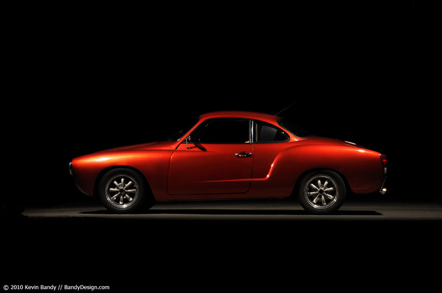 1971 Volkswagen Karmann Ghia, profile shot of the completed car, exterior, gallery_worthy