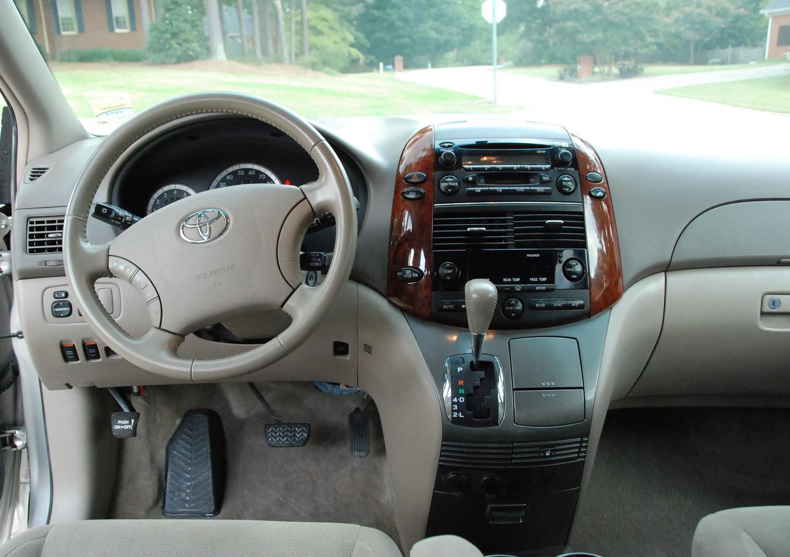 2005 Toyota Sienna Interior Pictures Cargurus