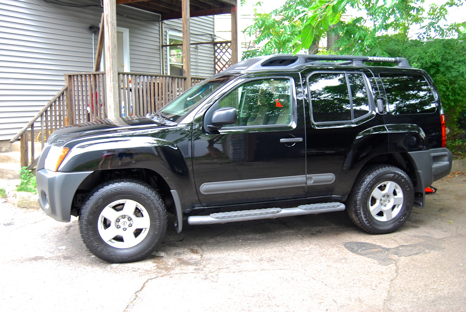 Used Nissan Pathfinder Reviews Picture of 2005 Nissan Xterra S, exterior