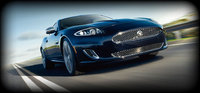 2013 Jaguar XK-Series, exterior front right quarter view, manufacturer, exterior