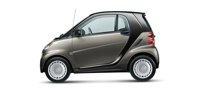 2013 smart fortwo, exterior left side view full, exterior, manufacturer