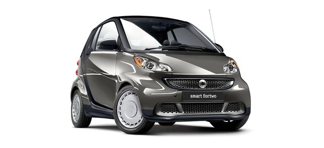 2013 smart fortwo, exterior right front quarter view, exterior, manufacturer